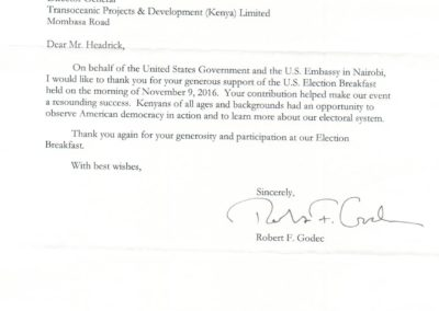 U.S. Embassy Kenya